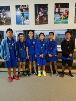 Senior Boys C Winners Rosmini Green