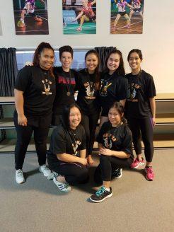 Senior Girls C Winners Glenfield Soft Serves