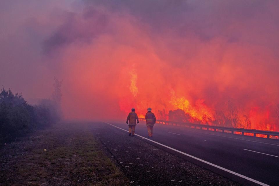 Models For What If Scenarios Bushfire Natural
