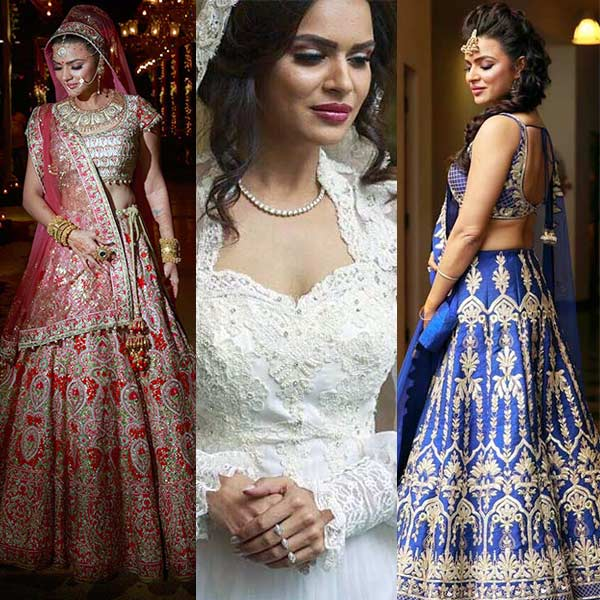 Decoding Aashka Goradia's regal look for her wedding with Brent Goble