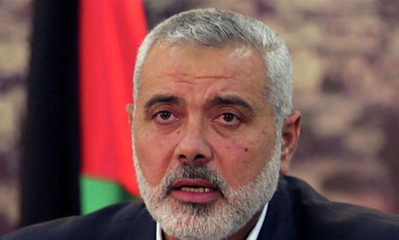 جيش العدو الإسرائيلي يقصف منزل إسماعيل هنية في غزة