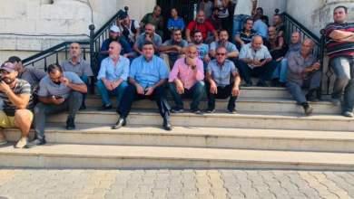 عمال بلدية طرابلس نفذوا اعتصاماً احتجاجا على قرارات يمق