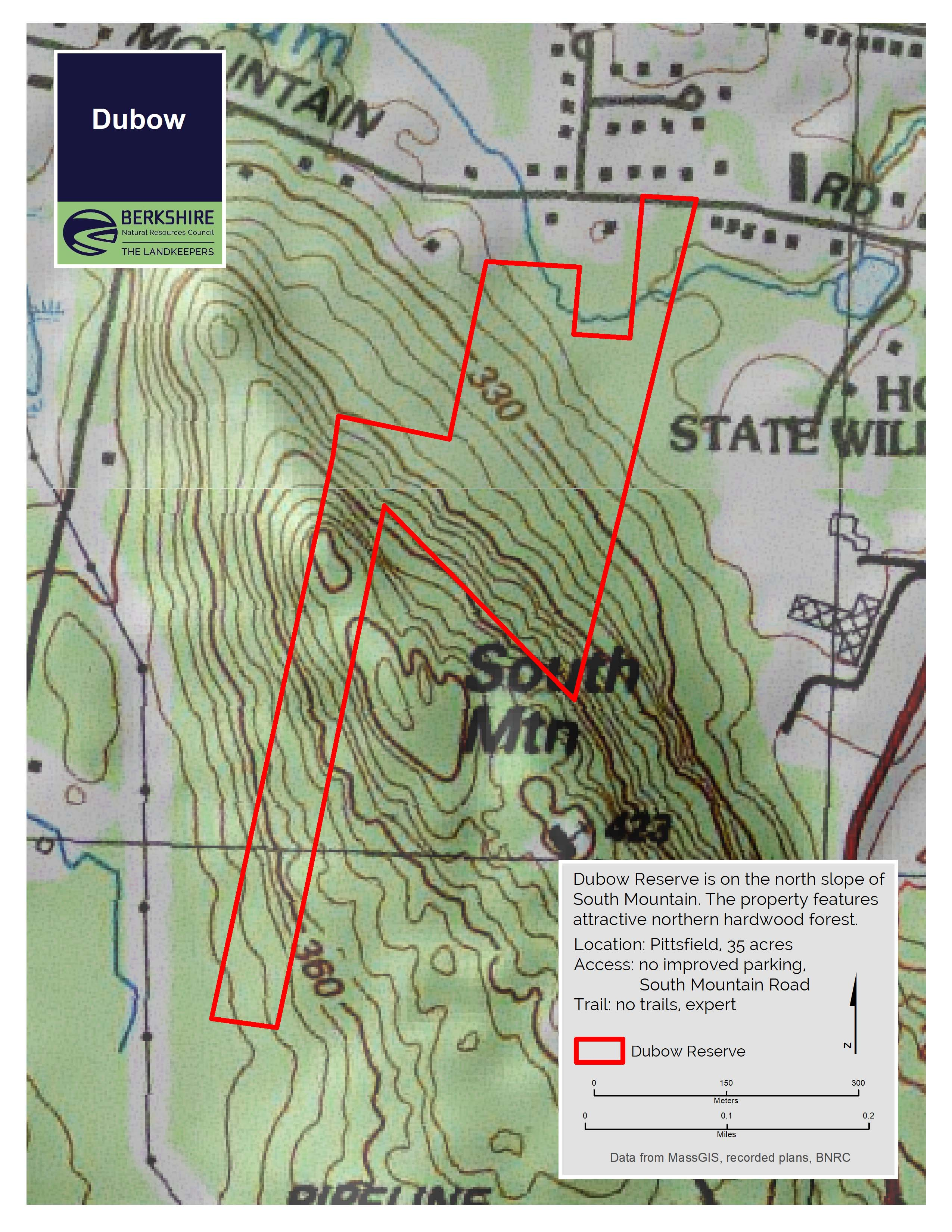 Northern hardwood forests provide habitat for numerous wildlife species that. Dubow Berkshire Natural Resources Council