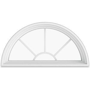 Infinity Round Top Replacement Window | BNW Builders VA