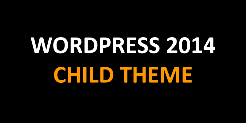 wordpress 2014 child theme