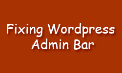 Fixing WordPress Admin Bar not showing up Problem