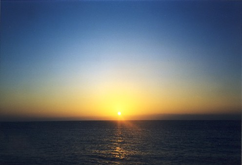 bello il tramonto