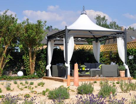 Pavillon Gartenpavillon Doha 3 0 X 5 9 M Gartenzelt