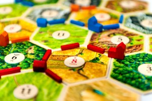 Settlers of Catan - Gameplay close-up