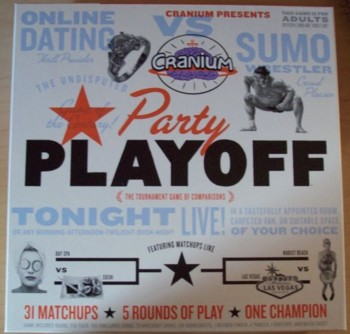 Cranium Party Playoff. Finally, a Cranium game with PARTY in the name!