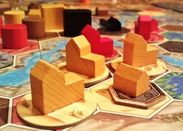 Terra Mystica Gameplay Yellow Town