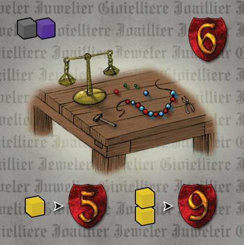 Caylus Expansion The Jeweller