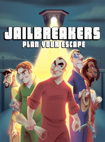 Jailbreakers Plan Your Escape Board Game