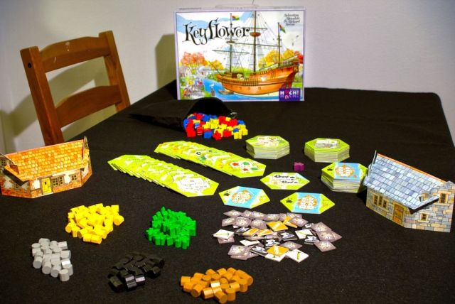 Keyflower Components