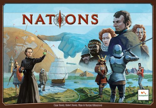 Nations Board Game