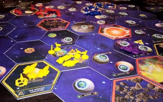 Twilight Imperium 4 Players Game
