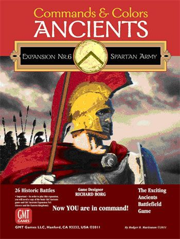 Commands and Colors: Ancients Expansion Pack 6 – The Spartan Army