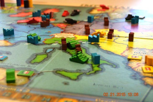 Imperial - Italy under pressure