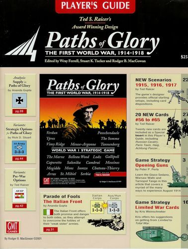 Paths of Glory Players Guide