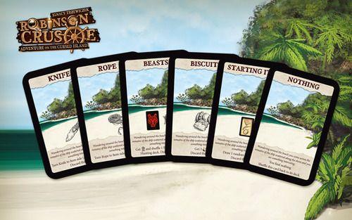 Robinson Crusoe Adventures on the Cursed Island - Beach Card Mini Expansion