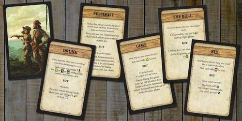 Robinson Crusoe Board Game Review Robinson Crusoe Adventures on the Cursed Island - Trait Cards I