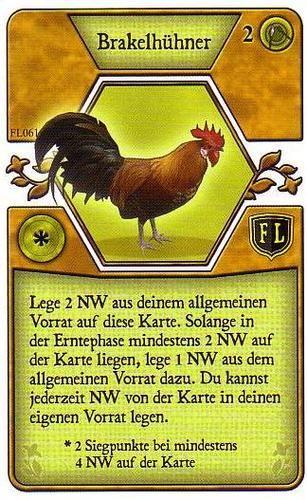 Agricola - Brakelhuhner Promo Card