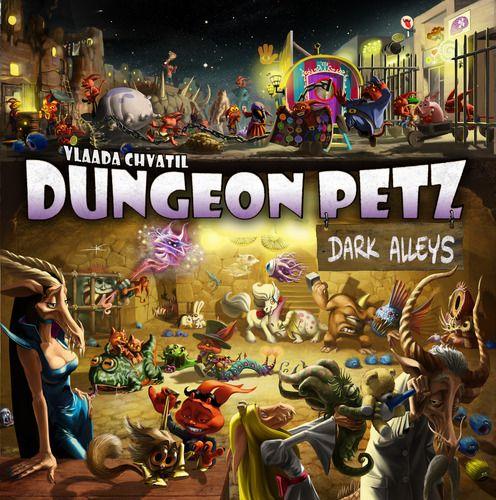 Dungeon Petz - Dark Alleys