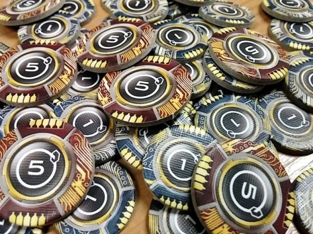 android netrunner - credit tokens