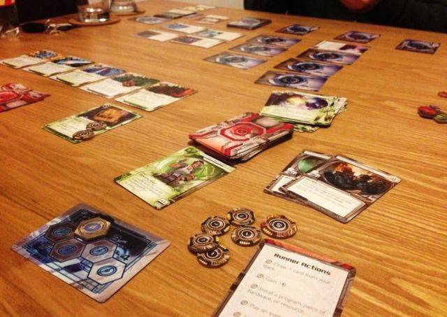 android netrunner - gameplay