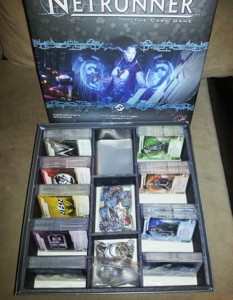 android netrunner - inside the box