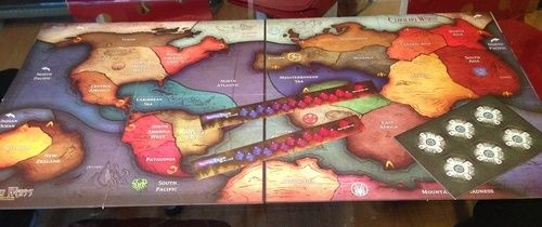 Cthulhu Wars - 6 - 8 Player Map