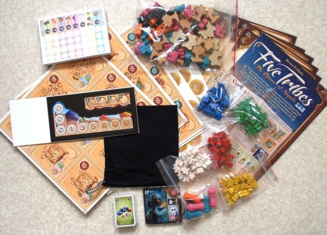 Five Tribes - Unboxing
