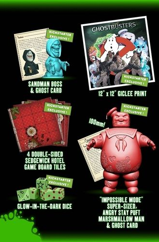 Ghostbusters The Board game - Mass Hysteria Exclusives