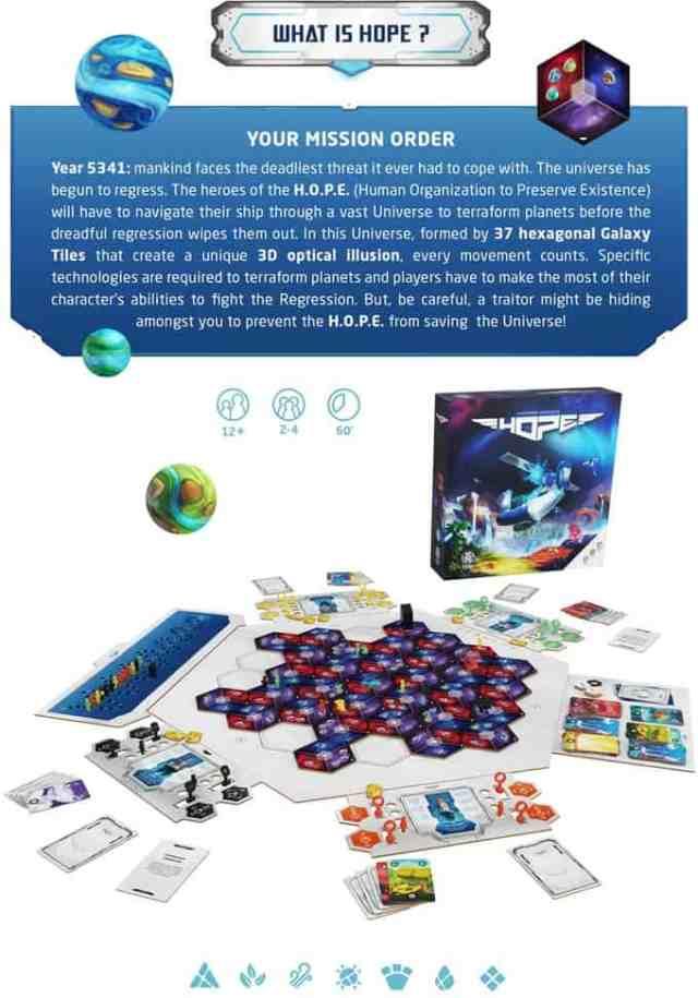 hope - board game