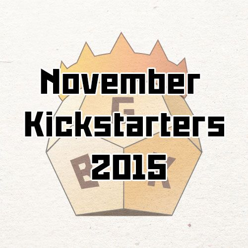 November Kickstarter 2015