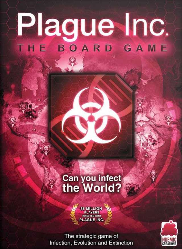 Top 10 board games about viruses