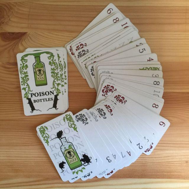 Poison Bottles - Cards