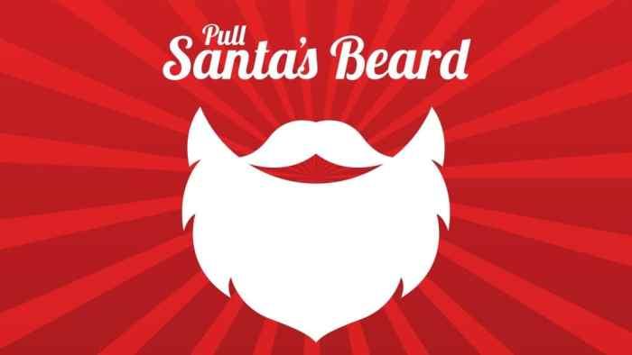 pull santa s beard