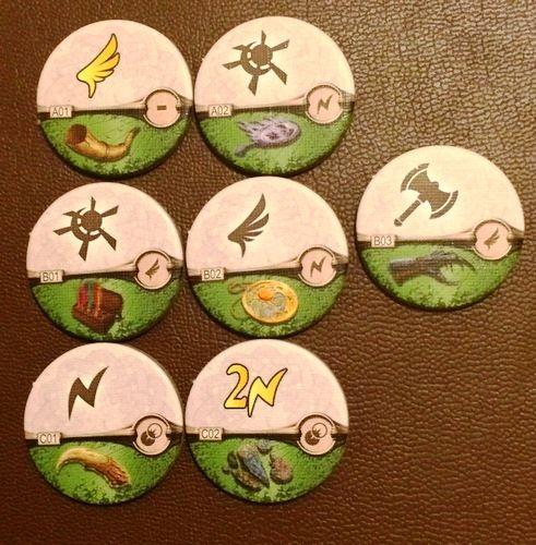 runebound - item tokens