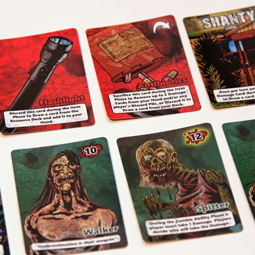 search and survive - cards