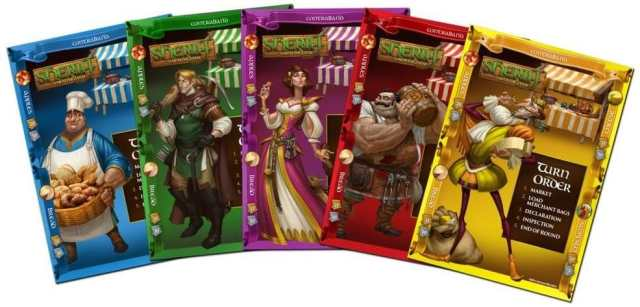 Sheriff of Nottingham - Player Boards