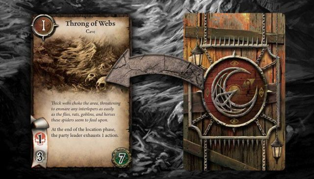 Warhammer Quest The Adventure Card Game - Location