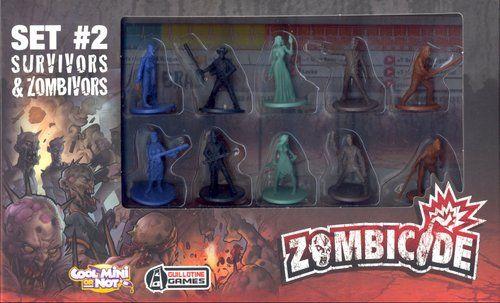 Zombicide Set #2 Survivors and Zombivors
