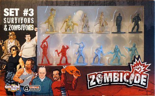 Zombicide Set #3: Survivors and Zombivors