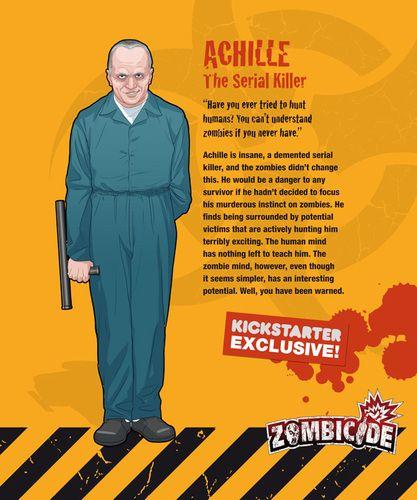 Zombicide Survivor Achille