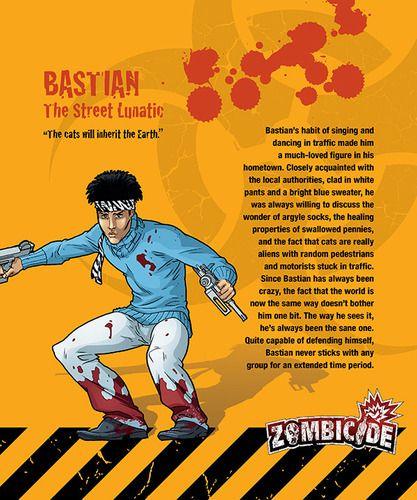 Zombicide Survivor: Bastian