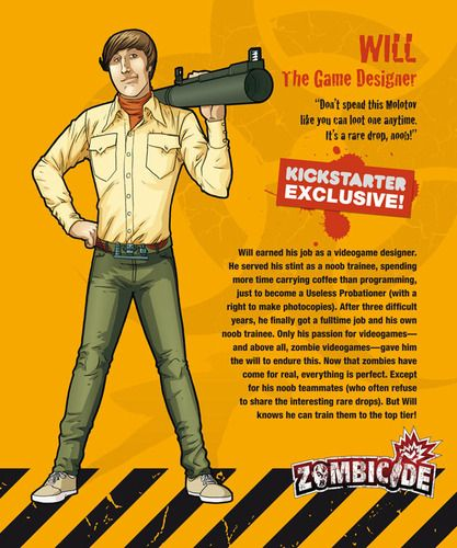 Zombicide Survivor Will