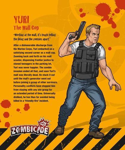 Zombicide Survivor Yuri