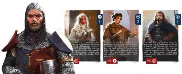 The King's Dilemma Components