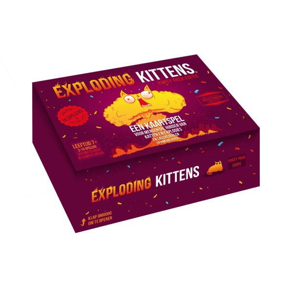 Box Exploding Kittens Party
